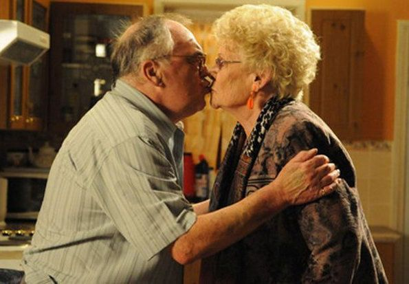 Jack and Vera Duckworth's last scene together on 'Coronation Street' aired in