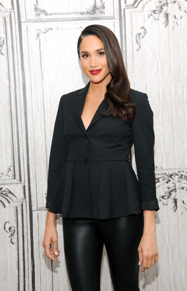 Discussing her work in 'Suits' during AOL Build in New York, 17 March