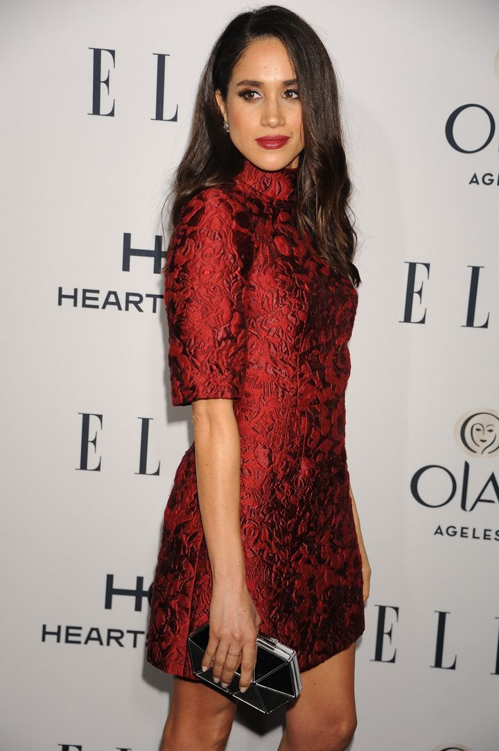 Attending ELLE's 6th Annual Women In Television Dinner.