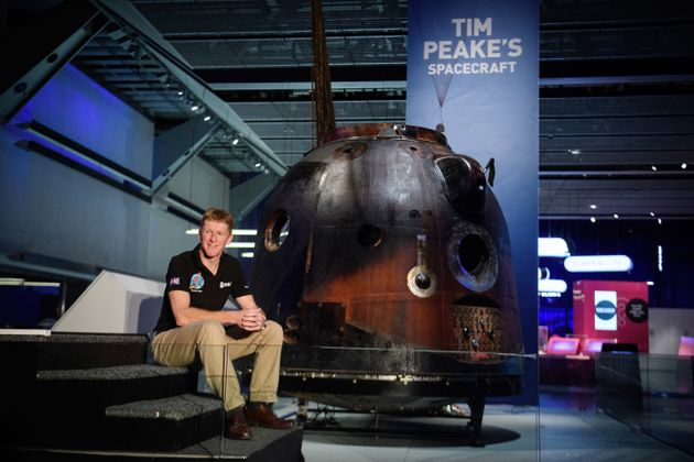 Tim Peake's Soyuz Spacecraft Is Going On A Tour Of The