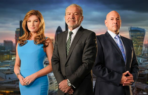 Karren with Lord Alan Sugar and Claude