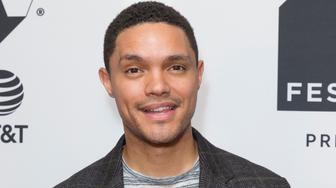 CINEPOLIS CHELSEA, NEW YORK, UNITED STATES - 2017/09/24: Trevor Noah attends Conversation with Trevor Noah & the writers of the Daily Show during Tribeca TV festival at Cinepolis Chelsea. (Photo by Lev Radin/Pacific Press/LightRocket via Getty Images)