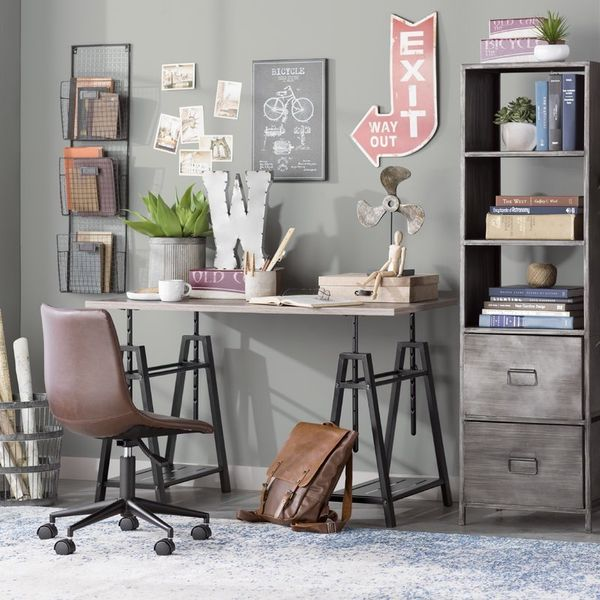 "Features 8 height adjustment options. <a href=""https://www.wayfair.com/Trent-Austin-Design-Shannon-Height-Adjustable-Writing-"