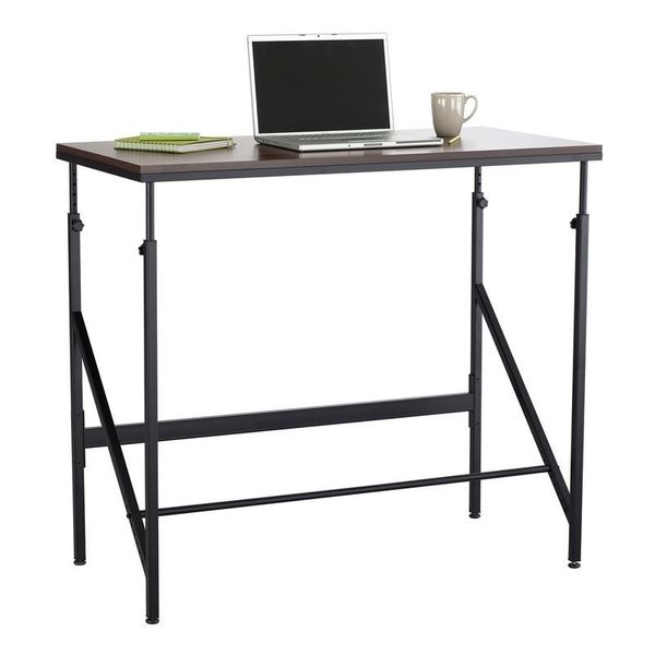 "This adjustable height standing desk also features an adjustable footrest. <a href=""https://www.wayfair.com/Safco-Products-Co"