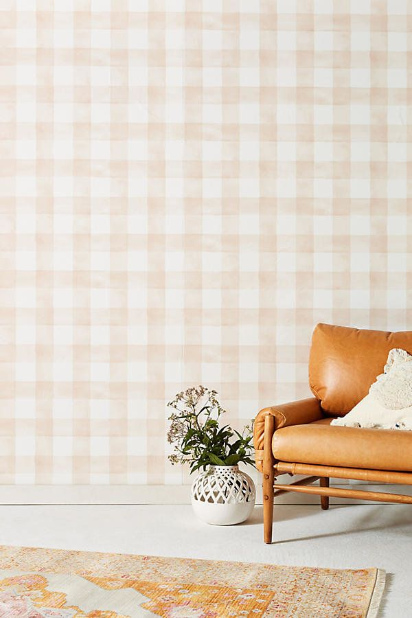 """<a href=""""https://www.anthropologie.com/shop/gingham-wallpaper?category=new-home&color=066"""" target=""""_blank"""">Get it here</a"""