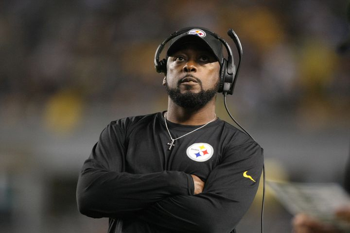 Pittsburgh Steelers head coach Mike Tomlin said his team would not be taking the field during the national anthem to avoid be