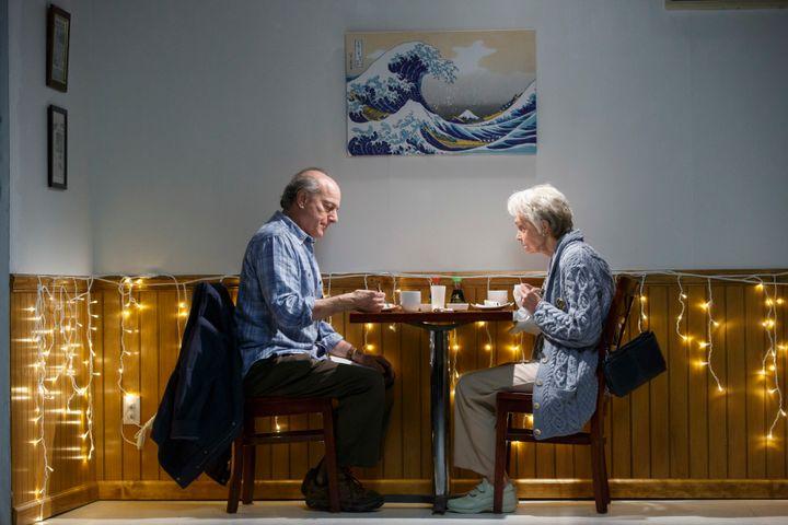 <p>Peter Friedman and Deanna Dunagan in Max Posner's <em>The Treasurer</em></p>