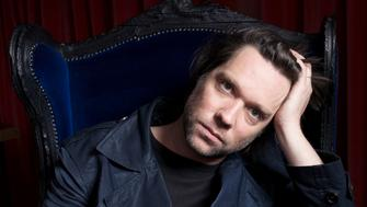 """Musician Rufus Wainwright poses for a portrait in New York April 13, 2012. After writing an opera, recreating Judy Garland's classic Carnegie Hall show and performing one concert tour dressed, in his words, as a crazed feathered ghost, Wainwright is edging toward pop's mainstream. The experimental singer-songwriter has teamed with popular British DJ and music producer Mark Ronson, who helped create Amy Winehouse's """"Back to Black,"""" for what is being touted as Wainwright's most commercial album yet, """"Out of the Game,"""" released in the United States on May 1, 2012. Picture taken April 13, 2012. REUTERS/Victoria Will (UNITED STATES - Tags: ENTERTAINMENT PROFILE SOCIETY)"""