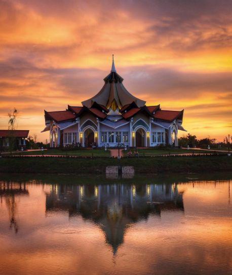 Baha'i Temple in Battambang, Cambodia