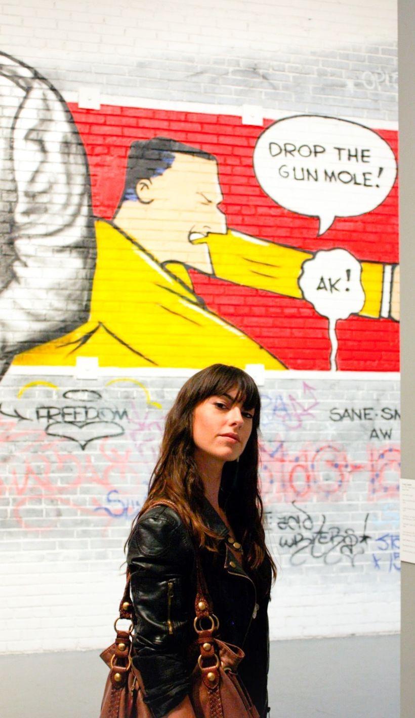 Art Curator Bianca Sinishtaj