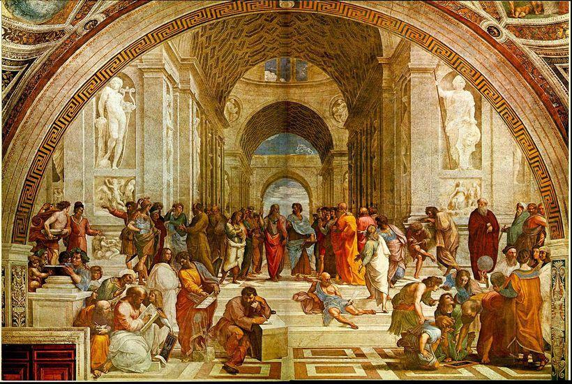 <em>The School of Athens</em>, Raphael, 1501-1511