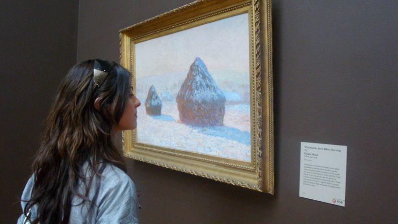 The Curious Curator gets up close and personal with Claude Monet.