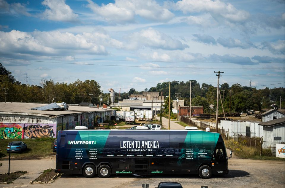 "HuffPost visits Asheville, North Carolina, on Sept. 25, 2017, as part of ""Listen to America: A HuffPost Road Trip."""