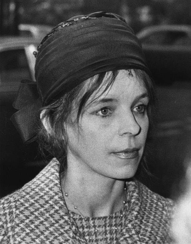 Lady Lucan, pictured above in 1974, was found unresponsive by police after being reported