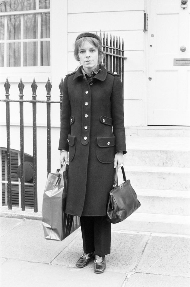 Lady Lucan after her husband's disappearance in