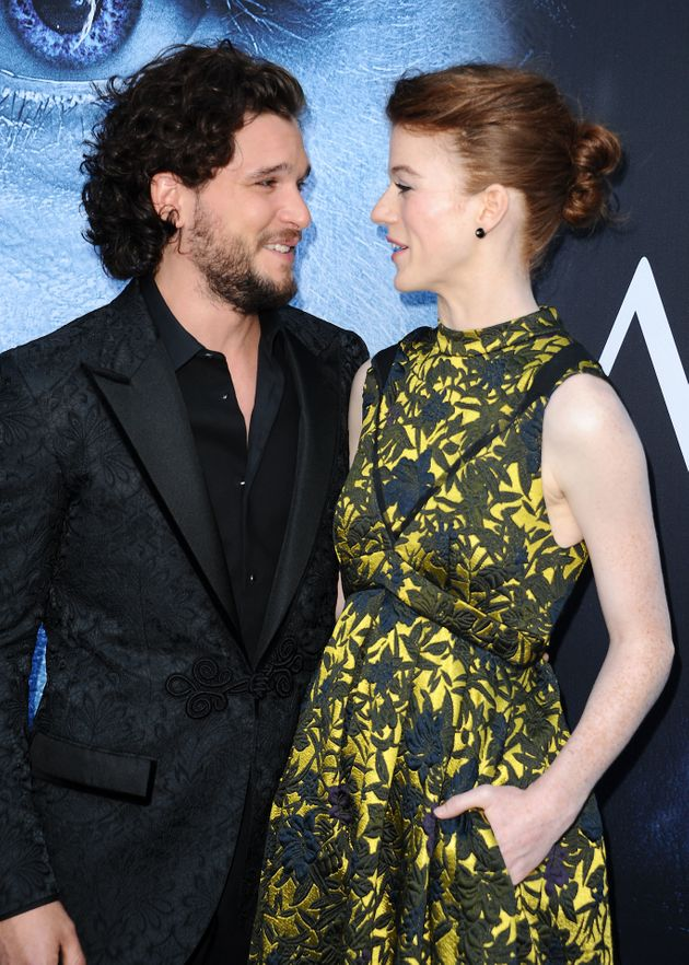 Kit and Rose at the season 7 'Game Of Thrones' premiere in