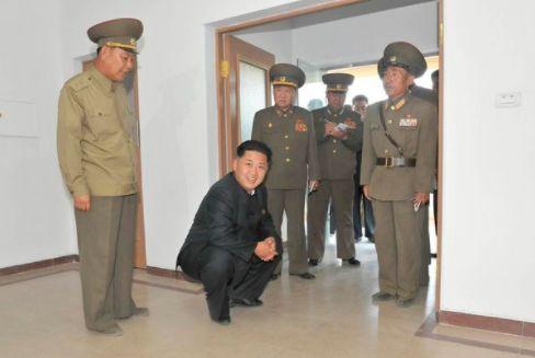 Redditors Rework Old Photo Of A Squatting Kim Jong Un To Hilarious