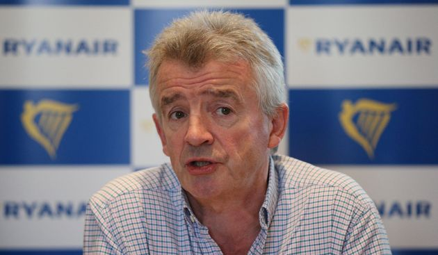 Michael O'Leary 'sincerely apologised' to travellers