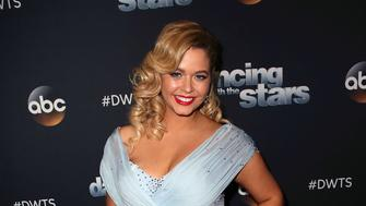 LOS ANGELES, CA - SEPTEMBER 25:  Actress Sasha Pieterse attends 'Dancing with the Stars' season 25 at CBS Televison City on September 25, 2017 in Los Angeles, California.  (Photo by David Livingston/Getty Images)