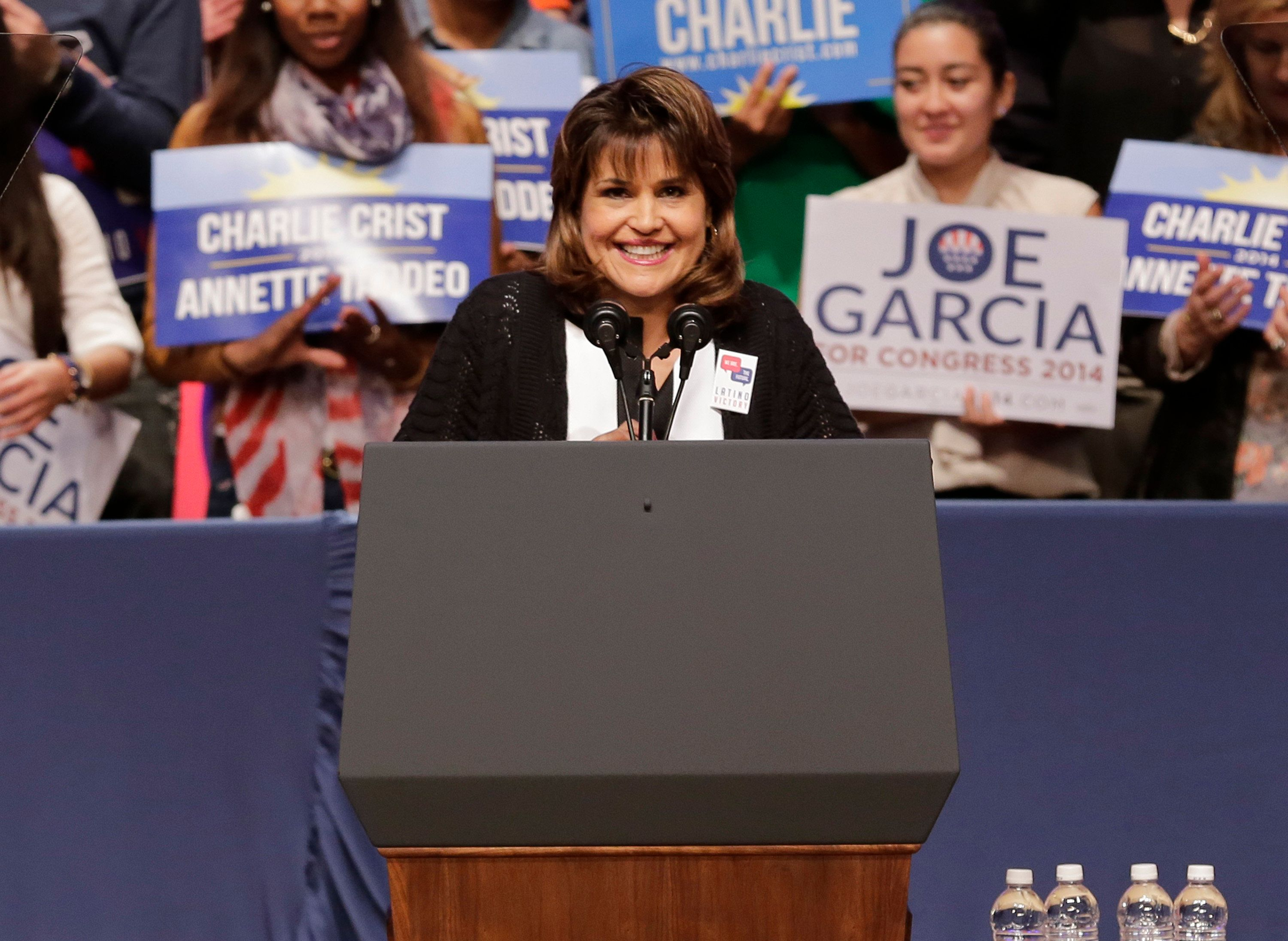 Democrat Annette Taddeo won a special election to represent Florida's 40th state Senate district.