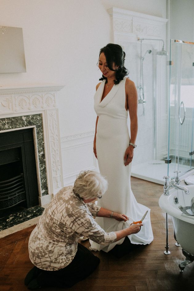 Northamptonshire Boutique Rescued Bride Whose Wedding Dress Didn't Turn Up Until After The