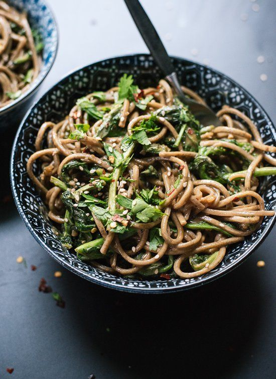 """<strong>Get the <a href=""""https://cookieandkate.com/2015/broccoli-rabe-peanut-soba-noodles/"""" target=""""_blank"""">Broccoli Rabe Pea"""