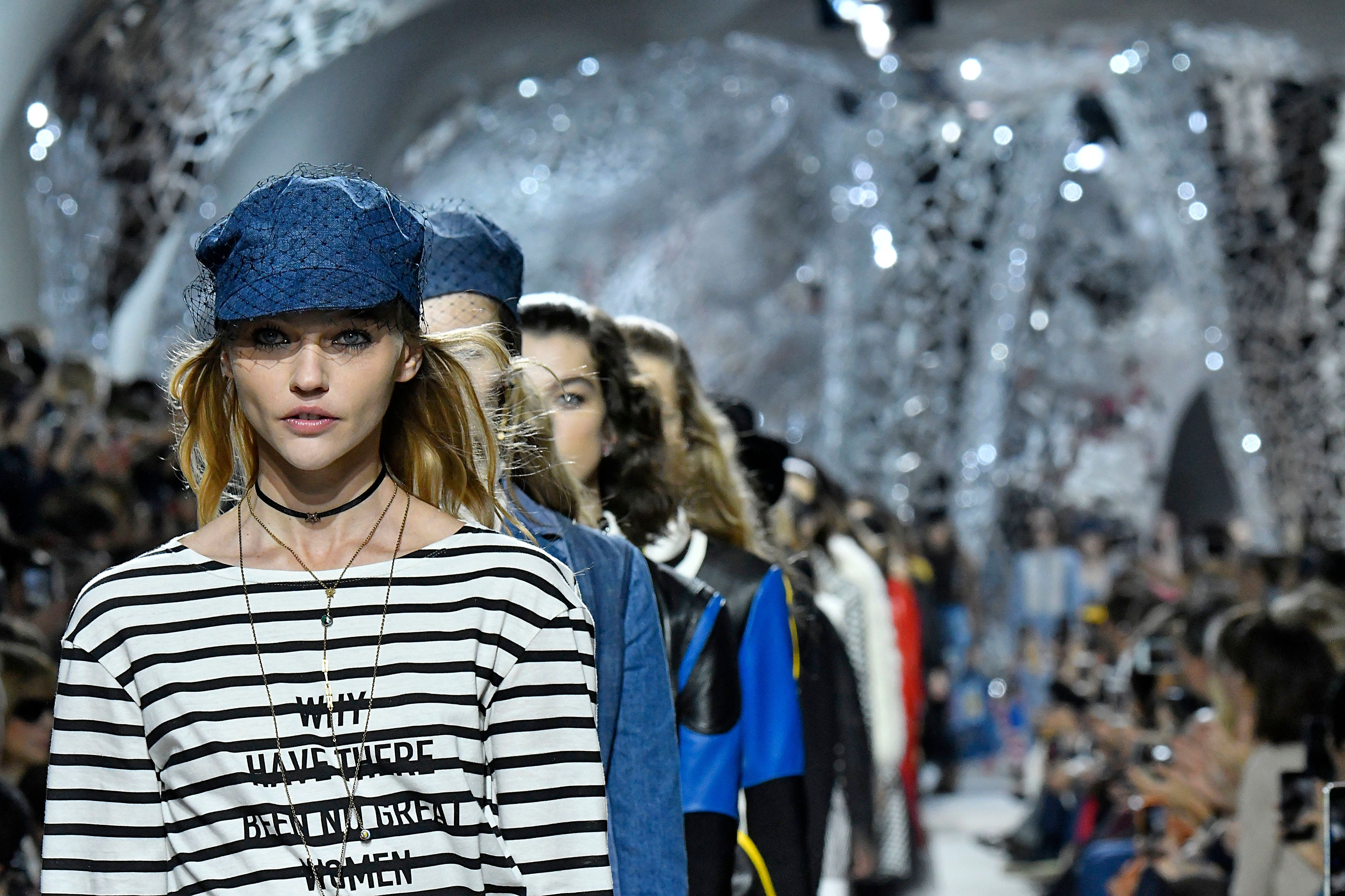 Dior Makes Another Feminist Fashion Statement On The Runway