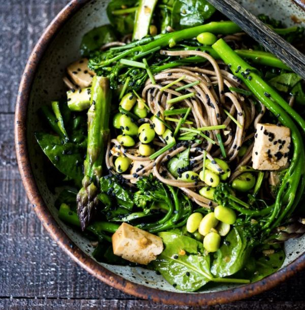 """<strong>Get the <a href=""""http://www.feastingathome.com/jade-noodles/"""" target=""""_blank"""">Jade Noodles recipe</a>from"""
