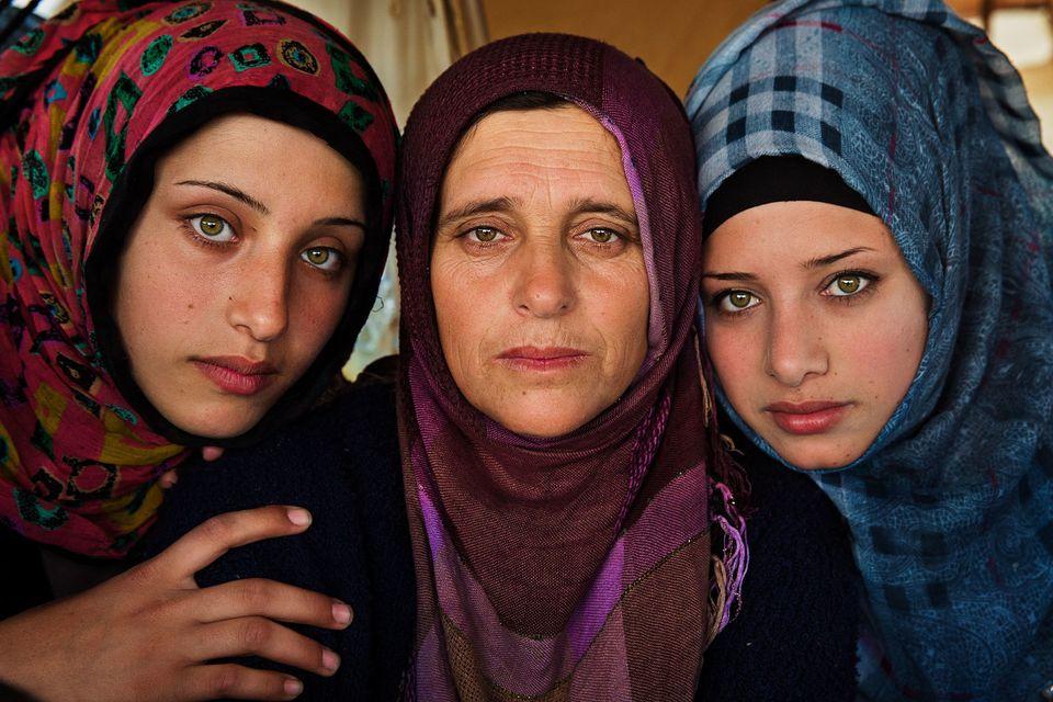 Syrian Family, byMihaela