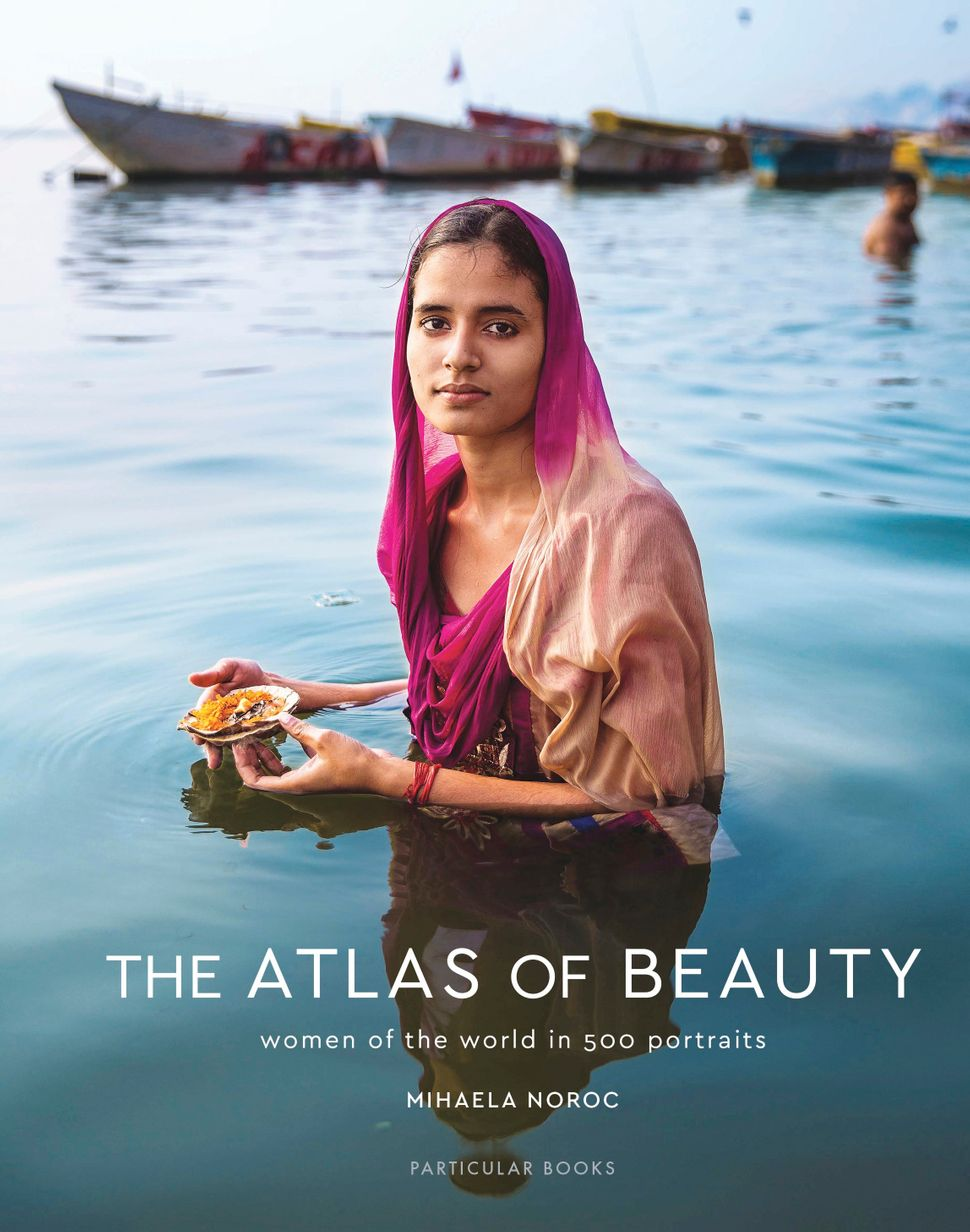 The Atlas Of Beauty cover, by Mihaela Noroc