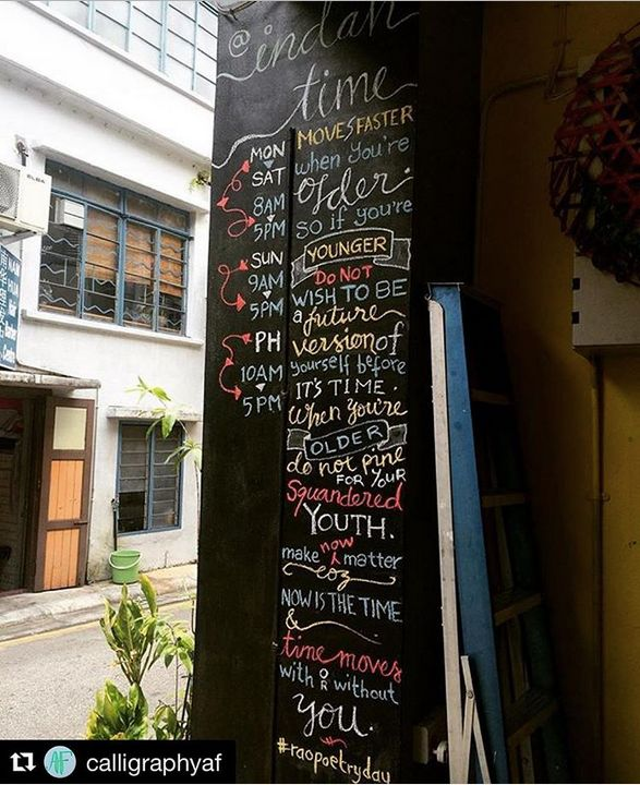 "<a rel=""nofollow"" href=""https://www.instagram.com/p/BK9-0i3hVpz/?tagged=raopoetryday"" target=""_blank"">Menu board poem. Photo"