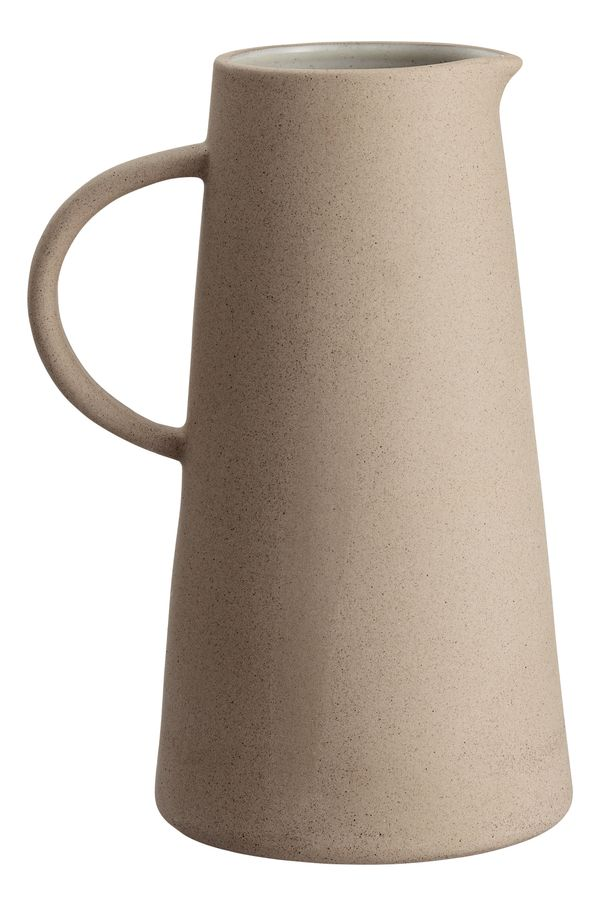 "Buy the <a href=""http://www.hm.com/us/product/70668?article=70668-A"" target=""_blank"">stoneware pitcher here</a> for $24.99&nb"