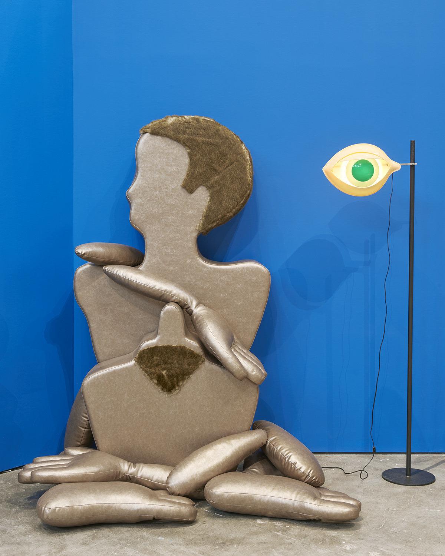 """Installation view, """"Nicola L.: Works, 1968 to the Present,"""" SculptureCenter, New York, 2017."""