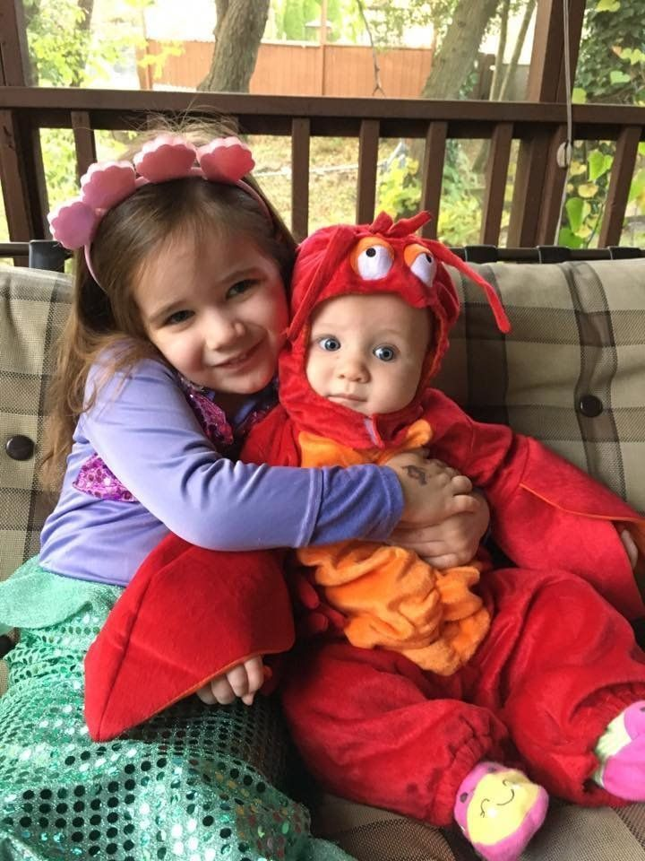 4 Ariel and Sebastian from u201cThe Little Mermaidu201d  sc 1 st  HuffPost & 41 Halloween Costume Ideas That Are Perfect For Siblings | HuffPost
