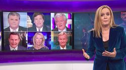 Samantha Bee Skewers Fox News' Hypocrisy Over NFL