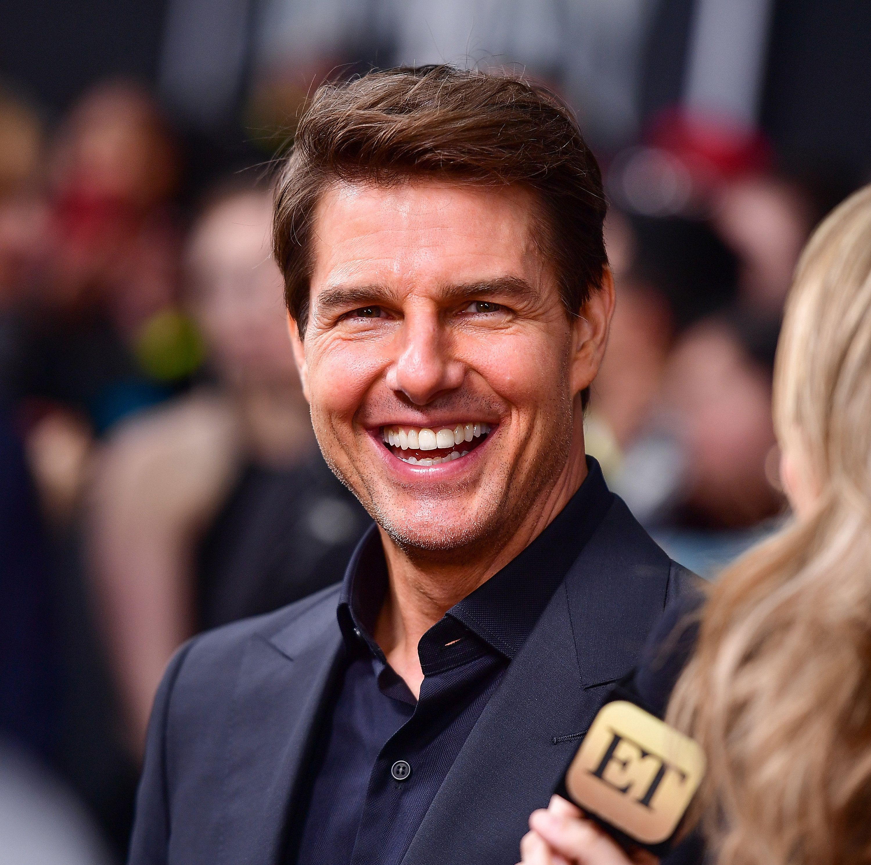 Tom Cruise Swears He Didn't Have A Fake Butt In