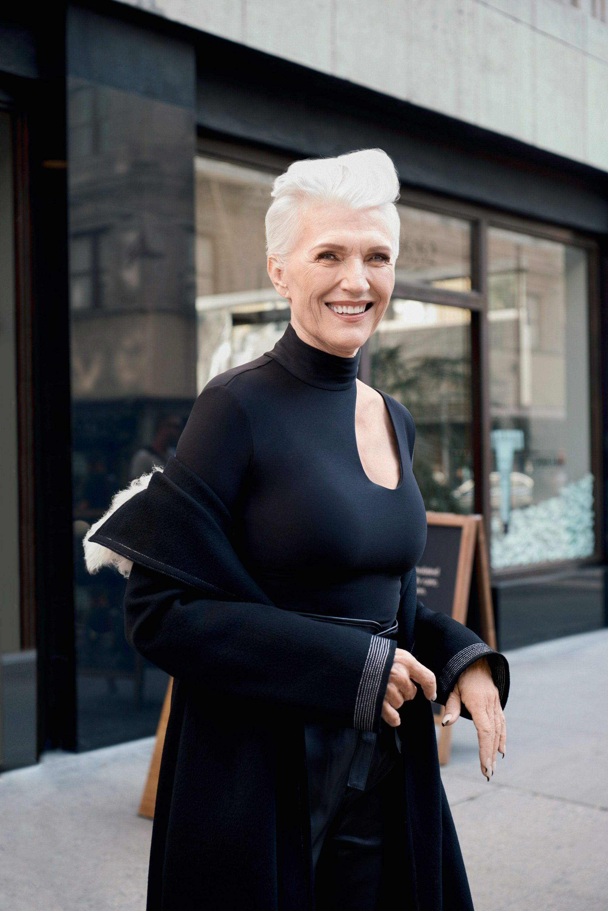 covergirls newest face is 69yearold maye musk huffpost