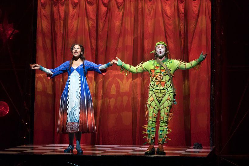 Golda Schultz as Pamina and Markus Werba as Papageno in the Met's <em>Die Zauberflote</em>