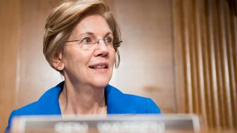 UNITED STATES - SEPTEMBER 12: Sen. Elizabeth Warren, D-Mass., takes her seat for the Senate Health, Education, Labor and Pensions Committee hearing on 'Stabilizing Premiums in the Individual Insurance Market for 2018: State Flexibility' on Tuesday, Sept. 12, 2017.  (Photo By Bill Clark/CQ Roll Call)