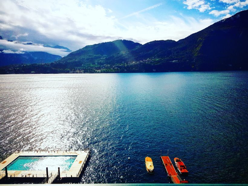 The two Venetian motor launches, called Ruy and Batt, are available for private outings on <em>Lago di Como</em>.