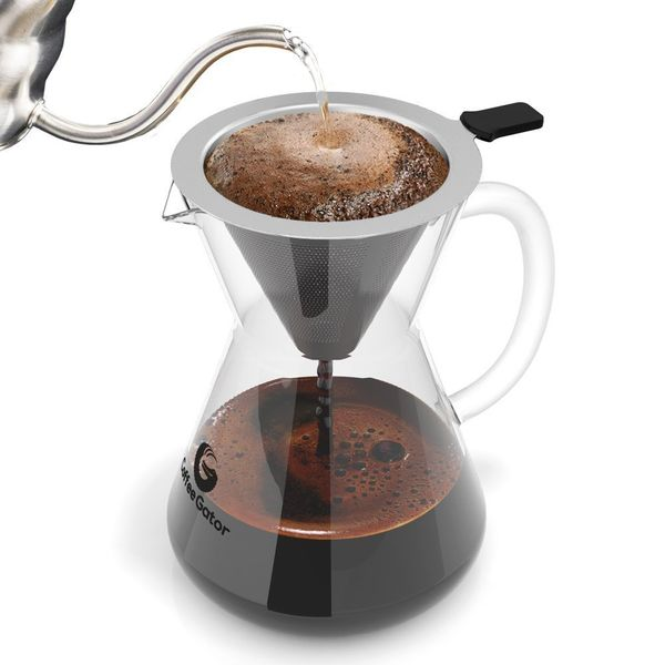 "Reusable, long-lasting, easy-to-use. What's not to love? <a href=""https://www.amazon.com/Coffee-Gator-Maker-400ml-Standard/dp"