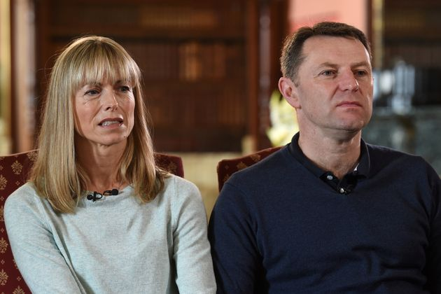 Kate and Gerry McCann, whose daughter Madeleine disappeared from a holiday flat in