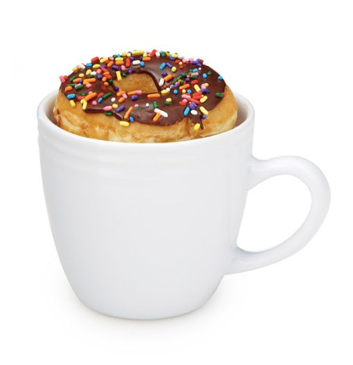 "O M G. <a href=""https://www.uncommongoods.com/product/donut-warming-mug"" target=""_blank"">Shop it here</a>."