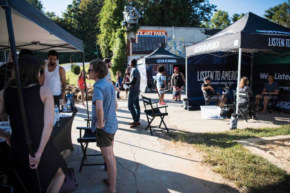 HuffPost visits IX Art Park in Charlottesville.