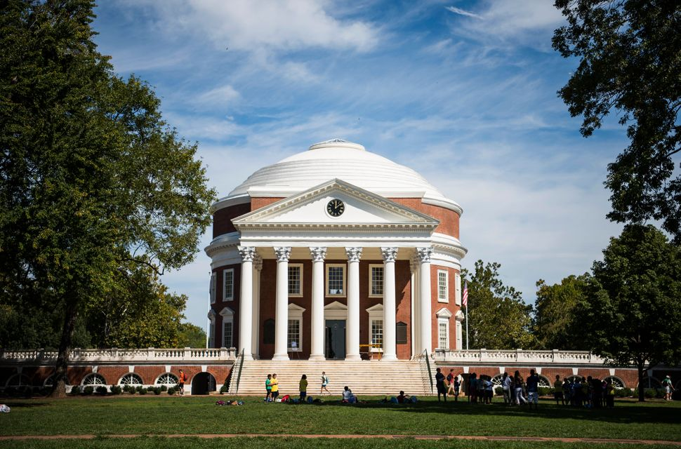 The rotunda at the University of Virginia in Charlottesville.