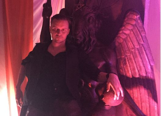 "Satanic Temple co-founder Lucien Greaves hopes the plan will prompt the Supreme Court to ""consider either adding s"