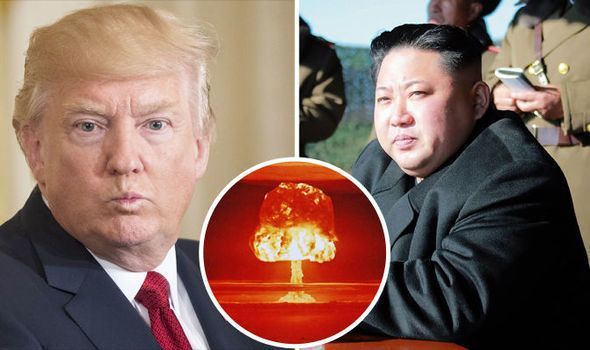 <em>Kim Jong-un is not holding back, saying a nuclear war is likely </em>