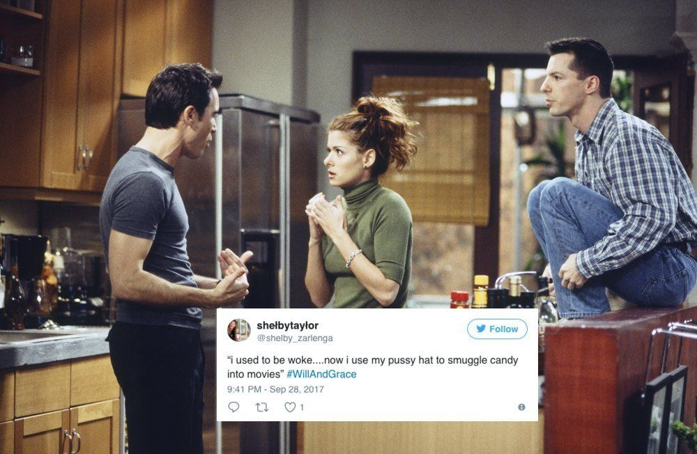 Yes, 'Will & Grace' Went After Trump In Its First Episode In 11