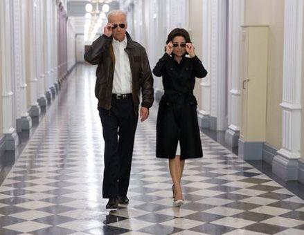 Joe Biden Sends His Fellow 'Veep' Julia Louis-Dreyfus A Sweet