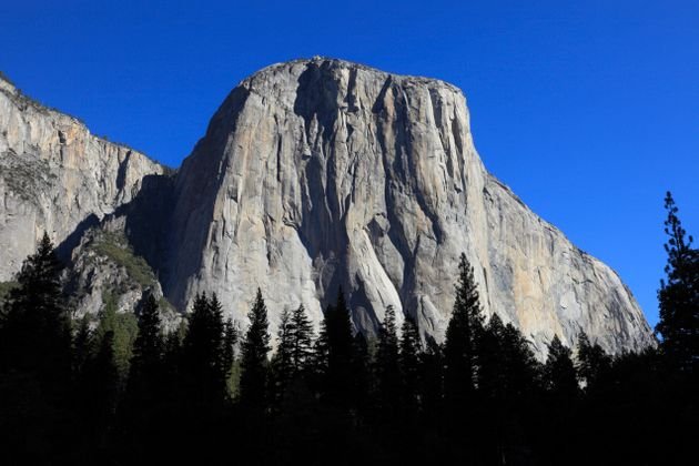 Andrew Foster was killed after a rock fall at El Capitan in Yosemite National Park (file